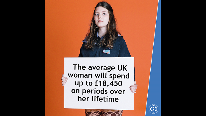 The average UK woman will spend up to £18,450 on periods over her lifetime