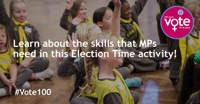 Learn about the skills that MPs need in this Election Time activity