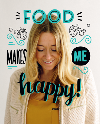 Anna Jones speaks about how food makes her happy
